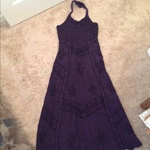 One size rayon dress