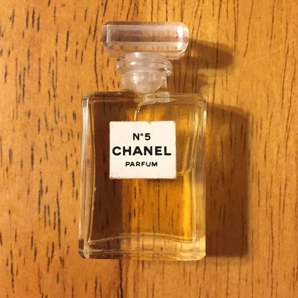 Chanel Accessories No 5 Mini Parfum 4ml Authentic Not Sample