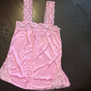 Pink lace blouse --boutique