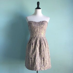 AEO Gold & Purple Dress