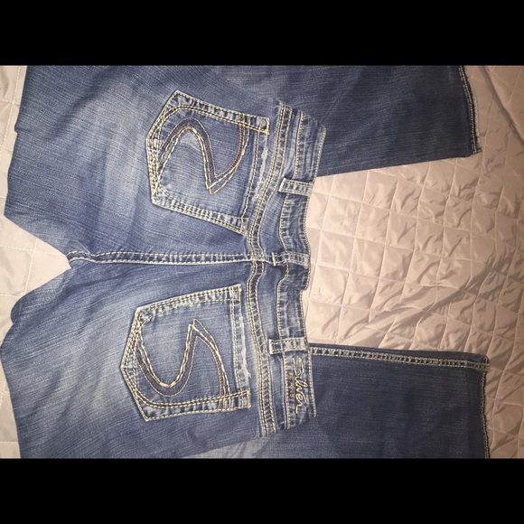 55% off Silver Jeans Denim - Size 33 Silver Jeans from Ally&39s