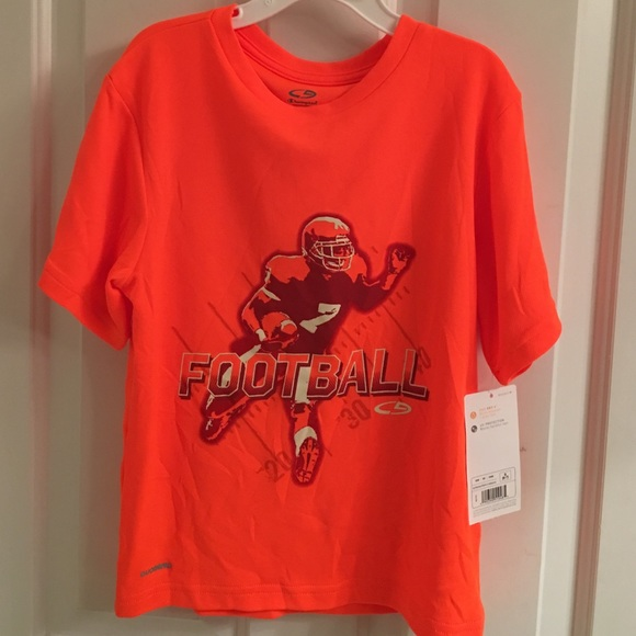 c00d14c40 C9 Champion Shirts & Tops | Nwt Graphic Tech Orange Shirt | Poshmark
