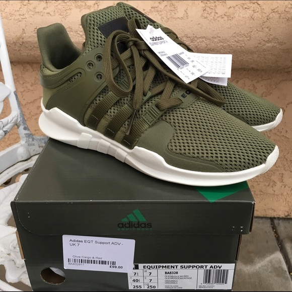 the latest 45dd6 59396 Adidas EQT Support Adv Olive Cargo (NMD Like) NWT