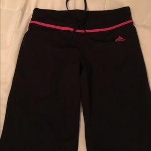Adidas workout/yoga pants