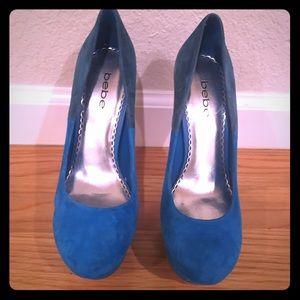 Brand New Bebe platform heels!