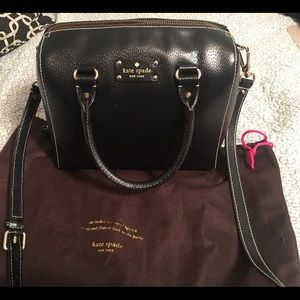 Kate Spade ♠️ wellesley alessa black purse