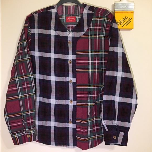 91268f6e0ac QUICK SALE - Supreme Multi Plaid Flannel Jersey
