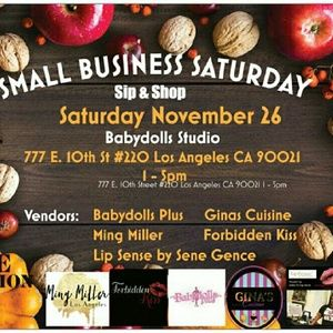 Join Us Small business saturday nov 26 los angeles