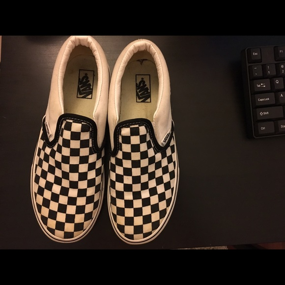 d3ad6883a30282 Buy checkered vans poshmark