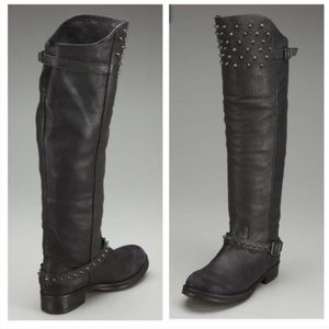 Ash knee high engineer boots size 37 1/2