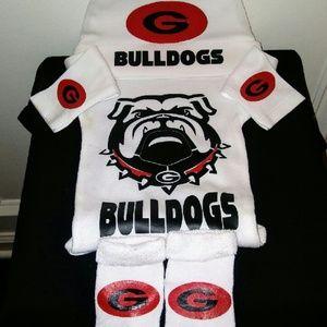 Georgia Bull Dogs Baby Sets