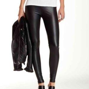 Free Press Liquid Faux Leather Legging, NWT