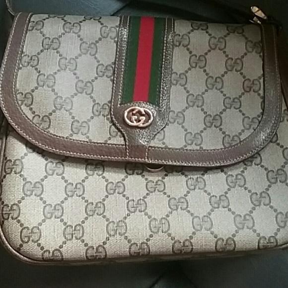 5c4db9f72ff6 Gucci Bags | Vintage Crossbody Bag | Poshmark