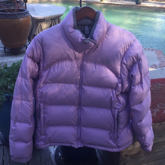 700 down NorthFace lavender. Some light spots. M 58345dc4680278054e01f40f.  Other Jackets ... 6a125613c