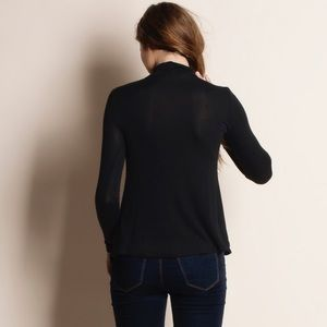 Bare Anthology Tops - Lace Up Long Sleeve Top