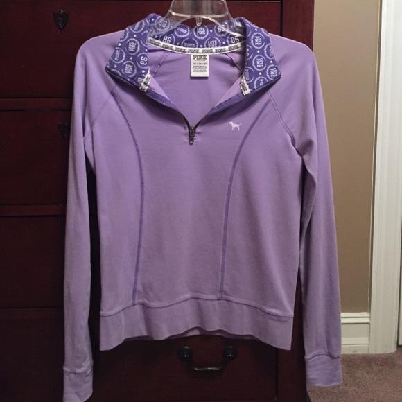 2bff683c816a9 Purple Victoria secret pink pullover