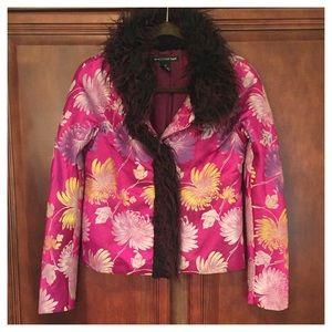 Vivienne Tam Cropped Jacket