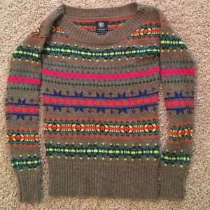 American Eagle Outfitters Tops - Bright Patterned Sweater