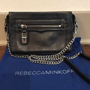 Rebecca Minkoff crossbody bag (navy blue)