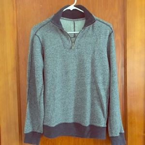 GAP Other - the softest heather xbf zip pullover SMALL