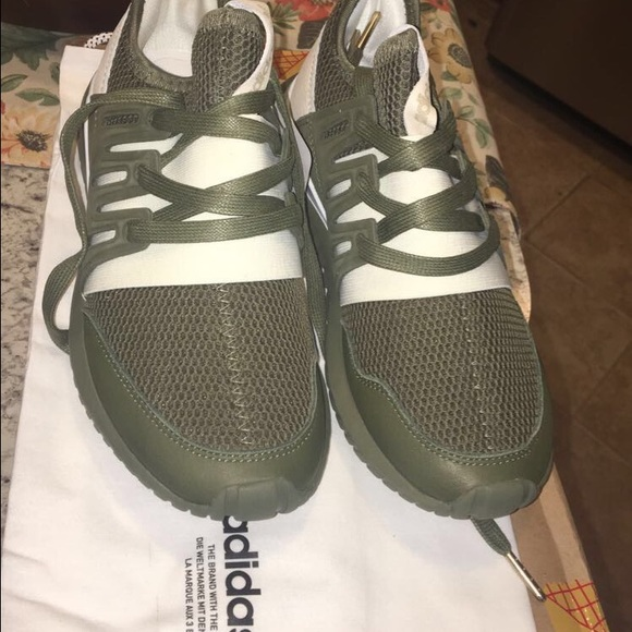size 40 5cd5f 75e76 discount code for womens adidas tubular radial shoe olive green e83e0 e3efa