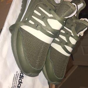 Adidas Rørformet Radial Kvinner Grønn kpHE1U5F
