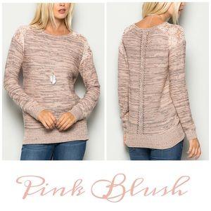 Pink Blush Sweaters - Pink Blush Sweater