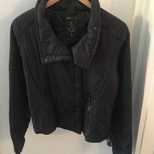 Gap black moto puffer jacket