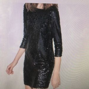 Zara Trafaluc sequin dress