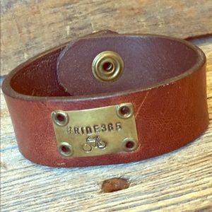 Jewelry - Bicycle Leather Cuff Bracelet
