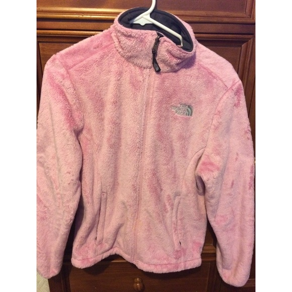 90b41c578efc light pink north face osito jacket. M 583483908f0fc4e71f02688d