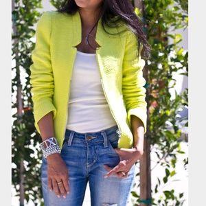 Cute neon blazer