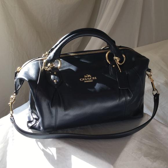 73fc38ce0c Coach Handbags - Coach Colette Leather Satchel Purse 33806
