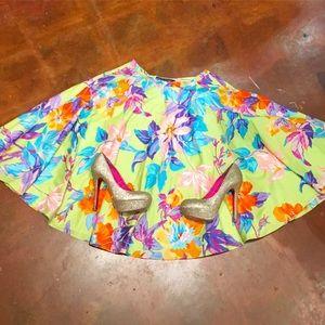 Ralph Lauren Dresses & Skirts - Ralph Lauren Floral Tropical Circle Skirt XS 2