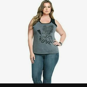 Torrid Tops - Torrid Eagle Love Top