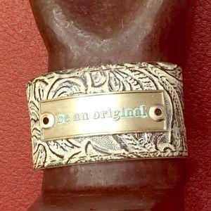 Jewelry - Handmade Patterned Cuff Bracelet