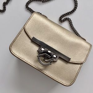 Mezzanotte Barolo Gold Mini Purse