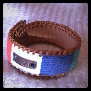 "Jewelry - Colorful Ethnic ""ride"" Cuff Bracelet"