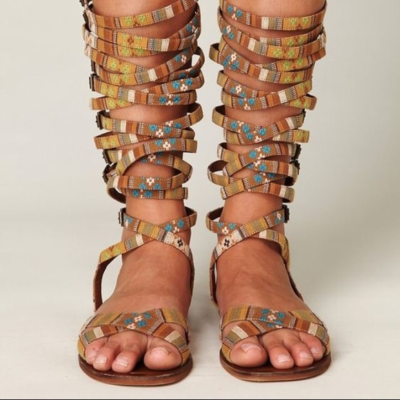 9598db826cd Free People Shoes - Free people JC Ramona tribal gladiator sandal 41