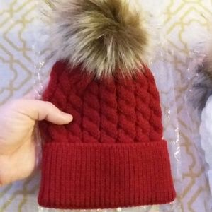Other - Two 0-6 Month baby beanies
