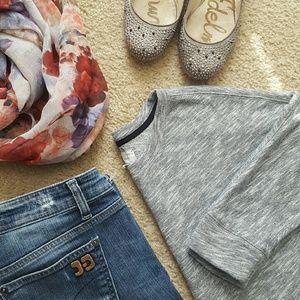 Lou & Grey slub raglan sweatshirt