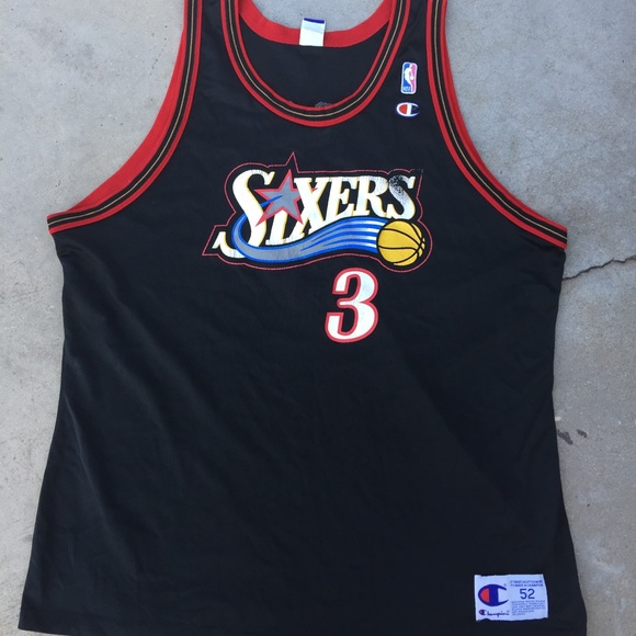 huge selection of 01b9f fcbc1 Allen Iverson sixers jersey