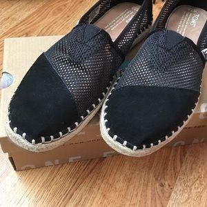 4b846c3da5f3 TOMS Shoes - TOMS Classic Black Mesh Slides