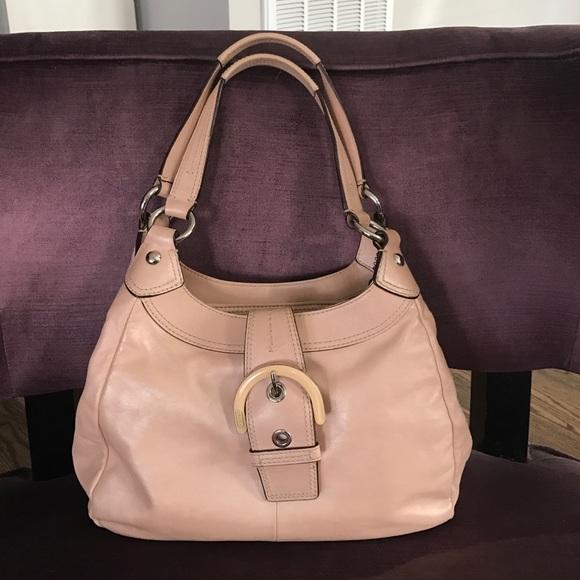 light pink coach purse coach purse accessories
