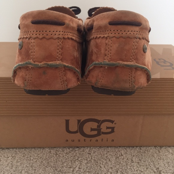 ugg meena leather chestnut