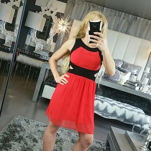 NWOT❤SASSY LITTLE RED DRESS