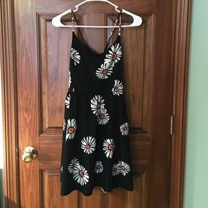 Francesca's Sun Dress. Cross back