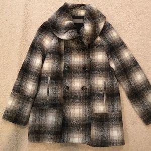 Zara wool and alpaca coat.