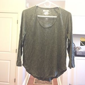 Madewell Anthem Scoop Tee size M
