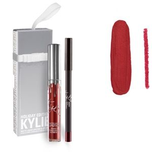 Kylie Cosmetics Other - Kylie Holiday Merry Lipkit in Ornament Package